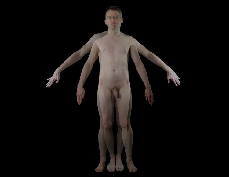 Gaytruvian man II asymmetrical - daveandrewskinner | ello
