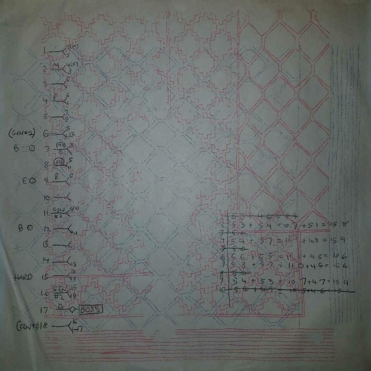 drawing blank LP sleeve - garywhatever | ello