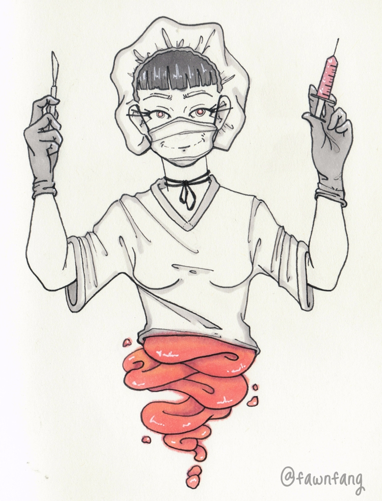 goretober inktober! prompts wee - fawnfang | ello