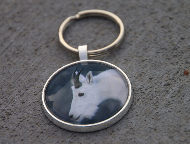 Mountain Goat Key Chain, Brecke - etbtravelphotography | ello