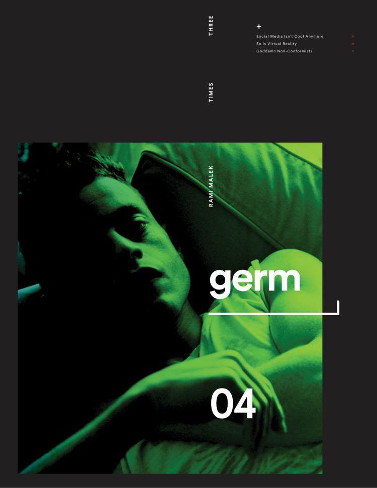 Magazine Idea, time Rami Malek  - prattlechap | ello