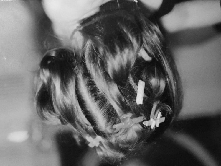 hairclips - 35mm, film, agneshaus - agneshaus | ello