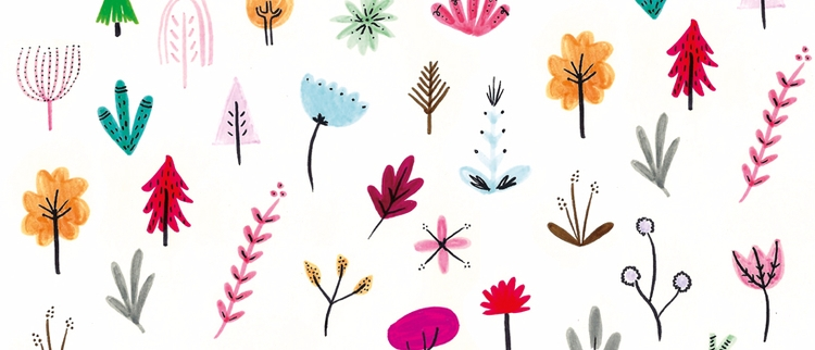 Pattern - plants, flowers, pattern - pirichi | ello