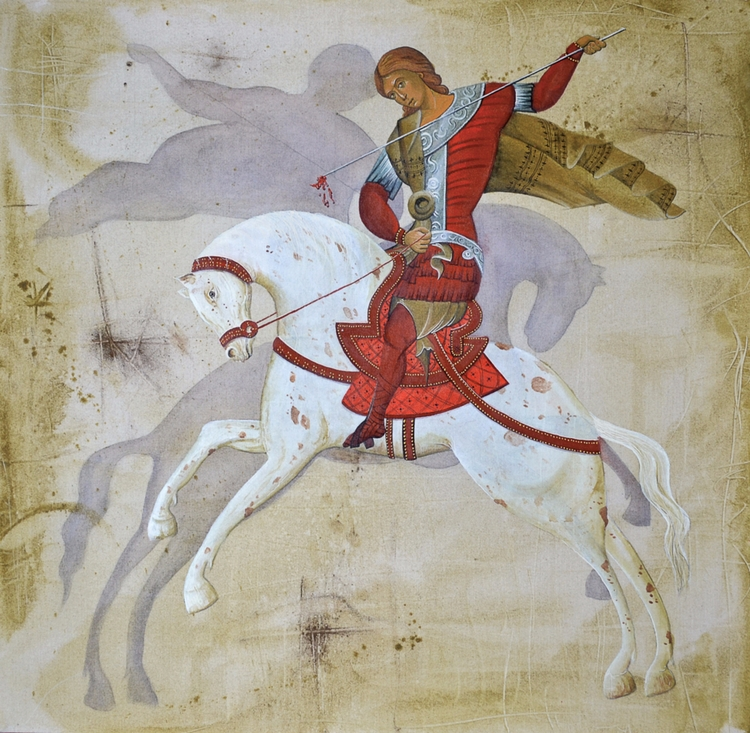 """St George Killing Shadow"" Jugo - strategieart 