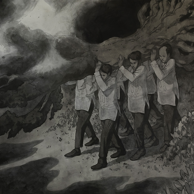 incredible piece 'Pallbearers'  - wowxwow | ello