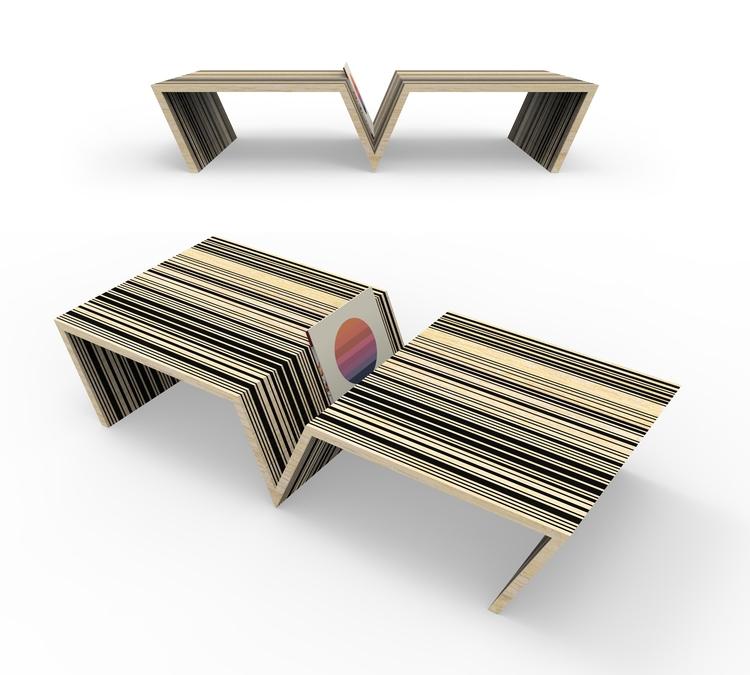 D7 Coffee Table concept. Mitere - jamesowendesign   ello