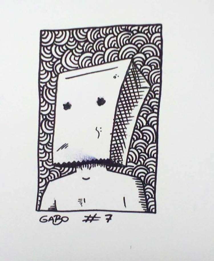 illustration, inktober, art, shy - gabo_jurgensen | ello