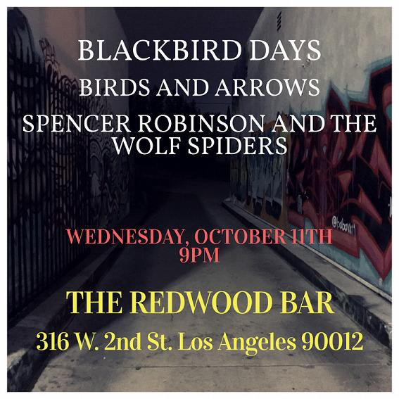 Los Angeles: playing Redwood Ba - 13spencer | ello