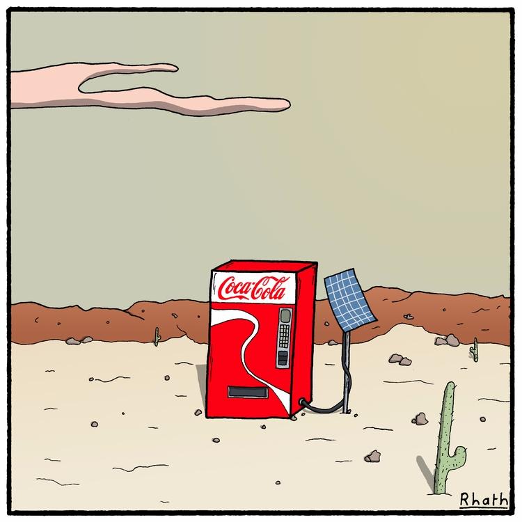 remained - cartoons, cartoonist - rhath   ello