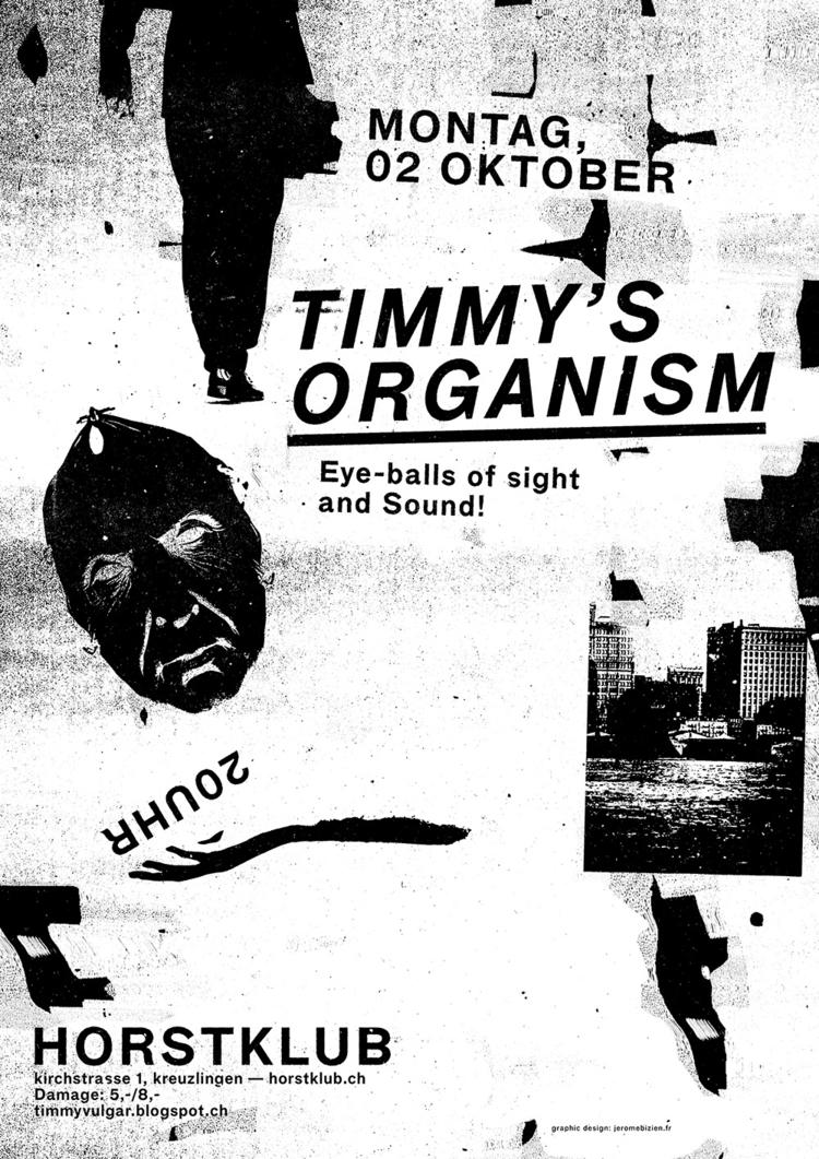 poster Organism, live Horstklub - jeromebizien | ello