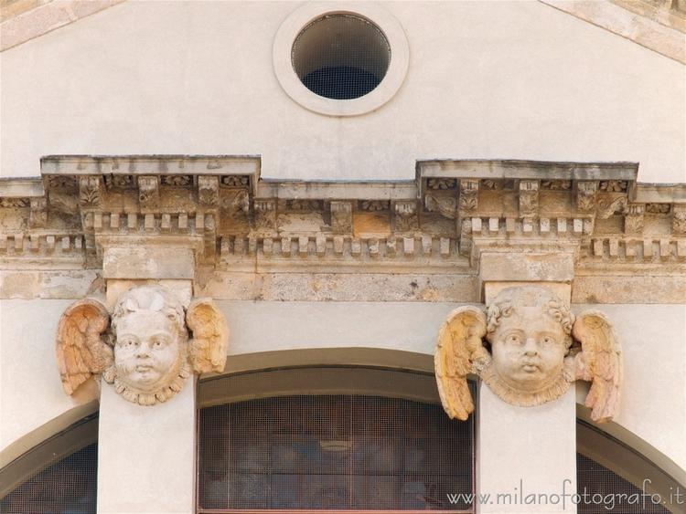 Milan (Italy): Heads cherub fac - milanofotografo   ello