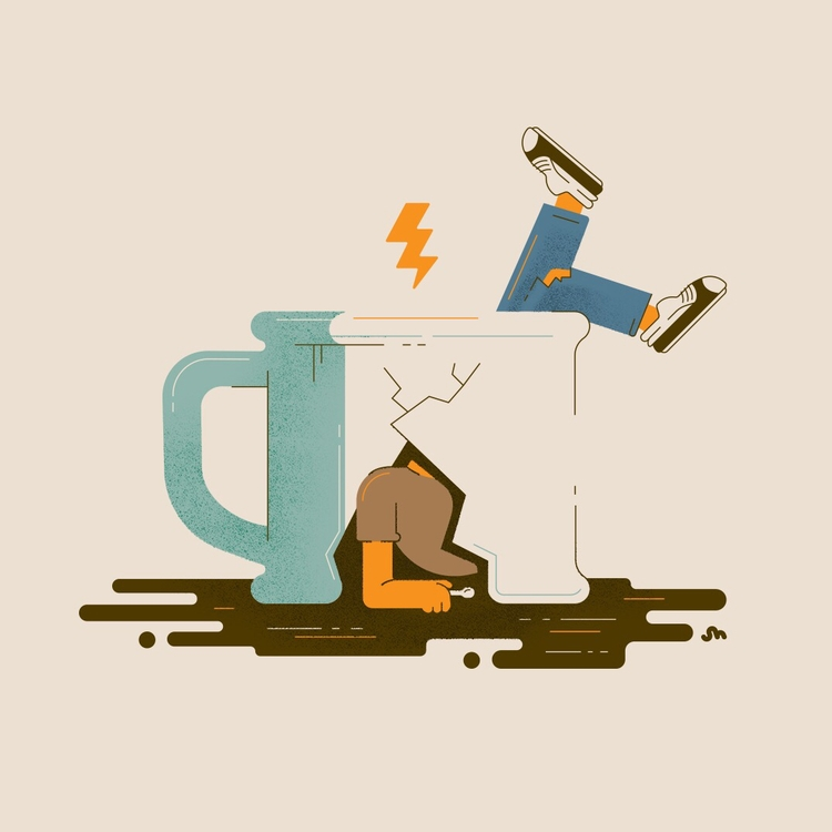 Coffee Troubles, wrong sip - coffee - jessienewhouse | ello
