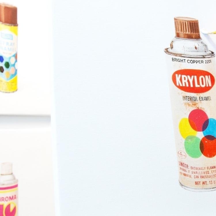 ...krylon - segment, vintage, spraycan - dotdotdot | ello