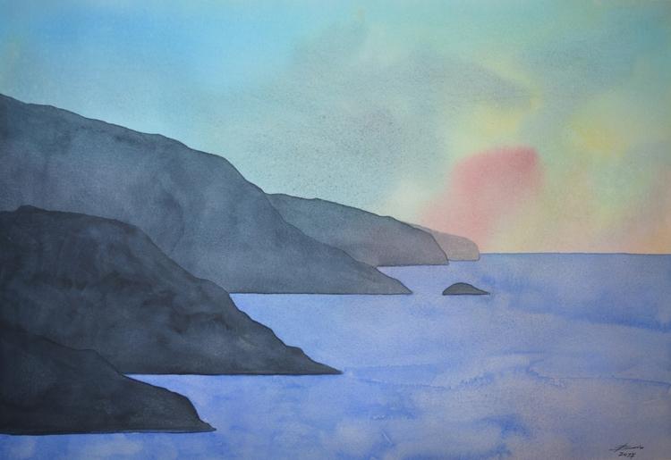 Coast Watercolour - euric | ello