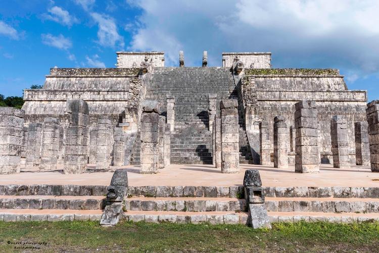 Templo de los Guerreros, 2017 b - azdrk | ello