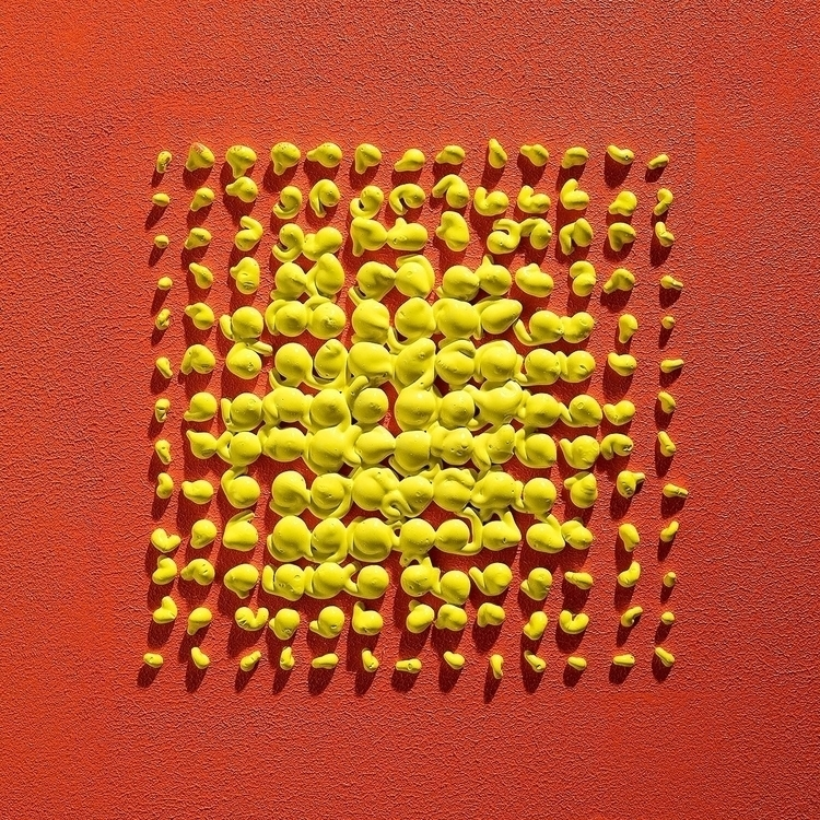 Yellow Orange 10 Acrylic wood  - andrew_faris | ello