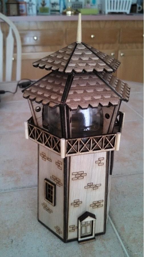 Lighthouse ---- Laser-cut plywo - savageworlds | ello