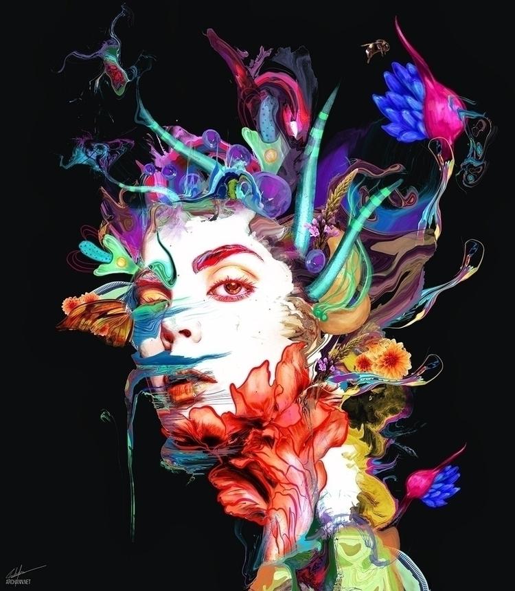 Synthesize - art, illustration, digitalart - archannair | ello