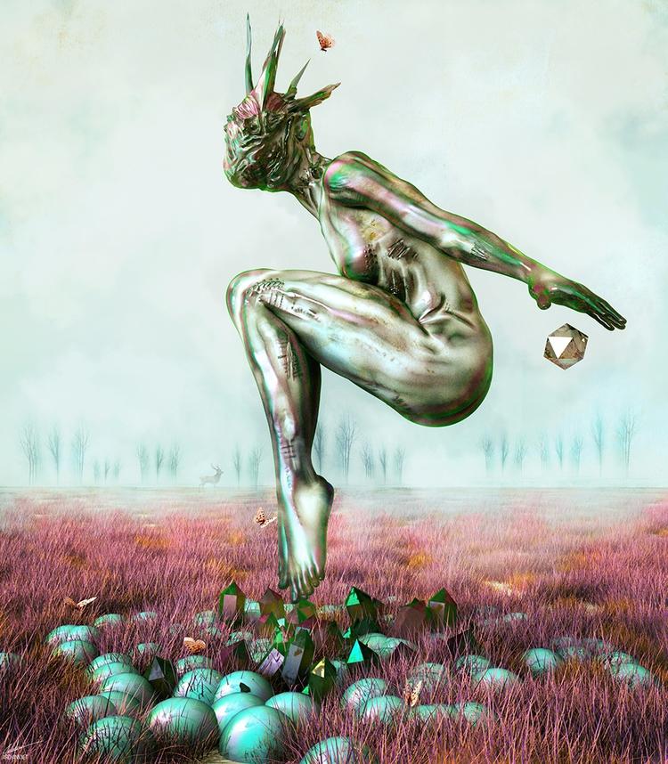 Kinnection - art, illustration, digitalart - archannair | ello