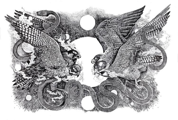 Bristol based artist illustrato - polkip | ello