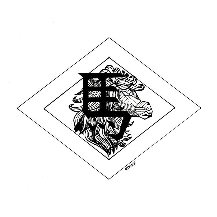 Inktober - run (chinese zodiac  - edwln | ello