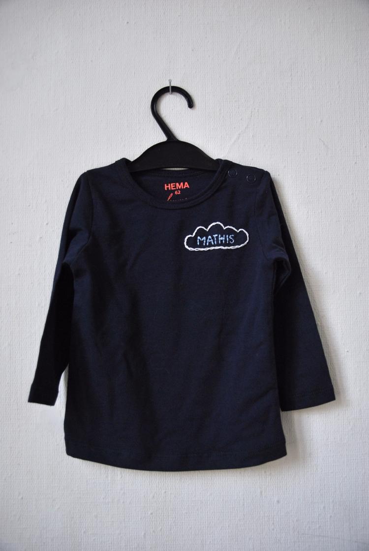 newborn cloud Mathis - handembroidery - sienie | ello