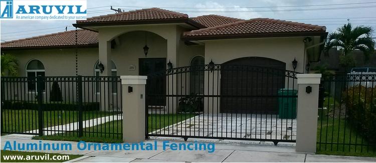 aluminum ornamental fence - top - aruvilinternational | ello