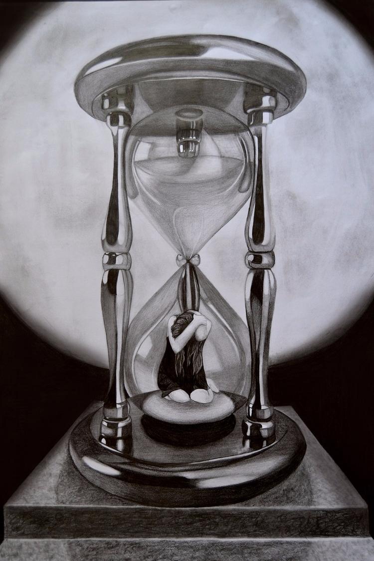life holds turn - Art, Pencil - anneliene_jonck | ello