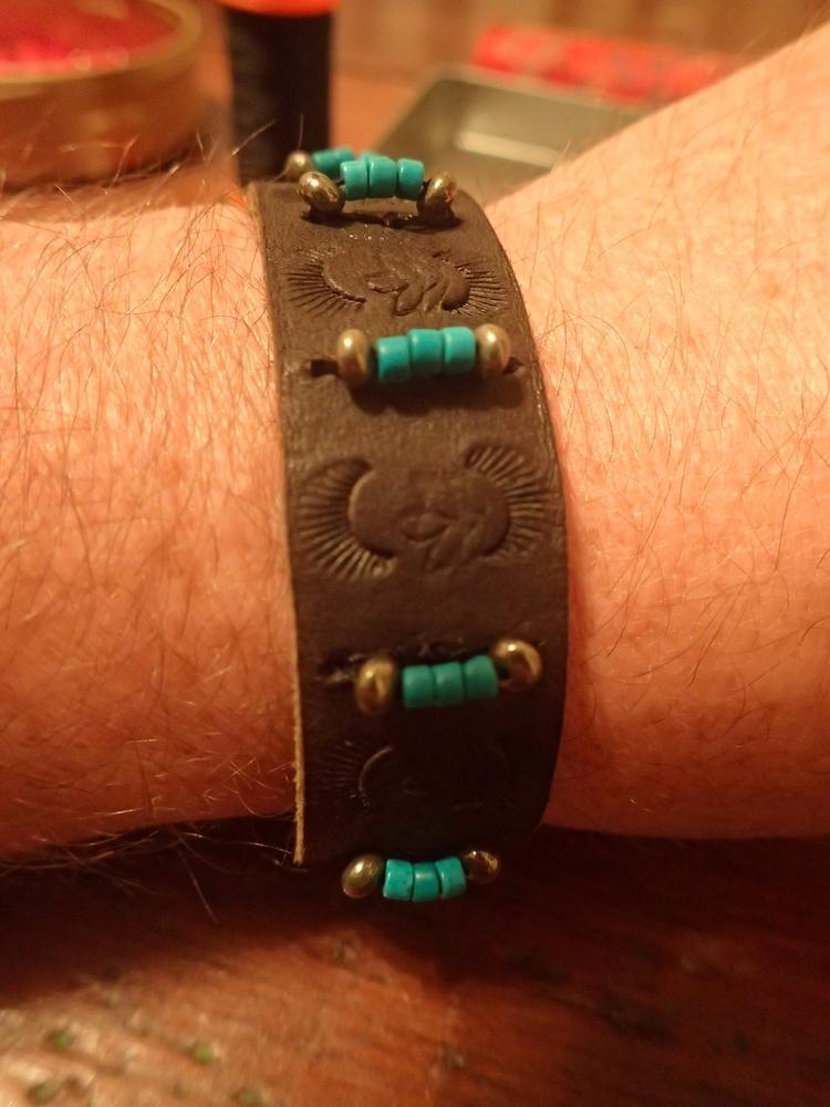 handmade, turquoise, hematite - shawn_from_tx | ello
