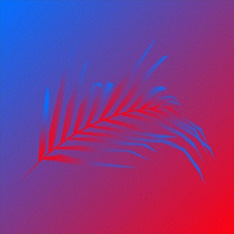 Palm trees light - illustration - jonanderisnestas | ello
