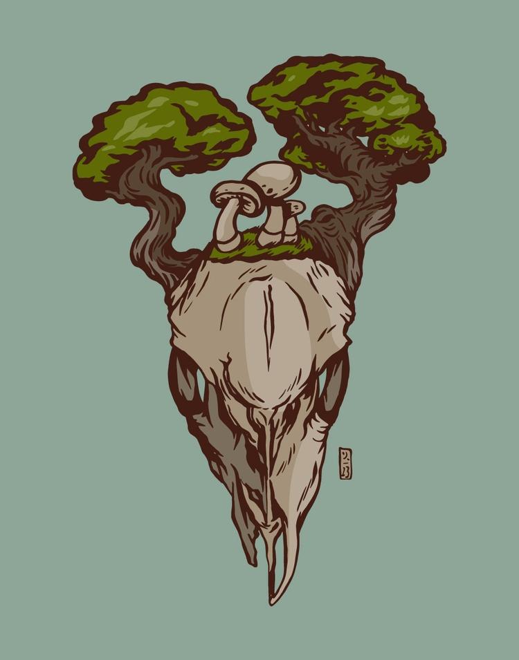 Death - illustration - thomcat23 | ello
