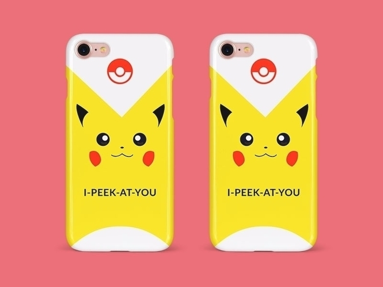 Pikachu Phone Cover - Illustration - anneliene_jonck | ello