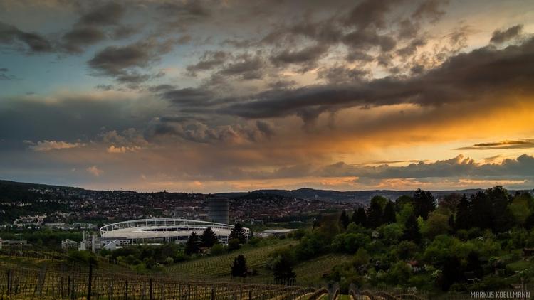 Stuttgart - Sunset, Photography - markuskoellmann | ello