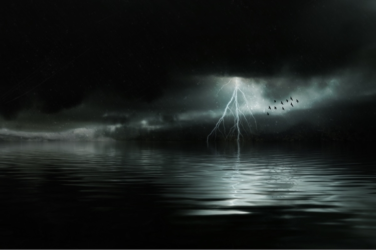 Fever - photoshop, dark, love, water - alexandrascotch | ello