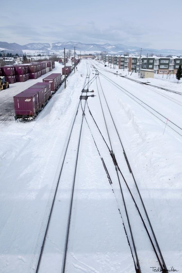 Furano railyards winter. Hokkai - tedhamilton | ello