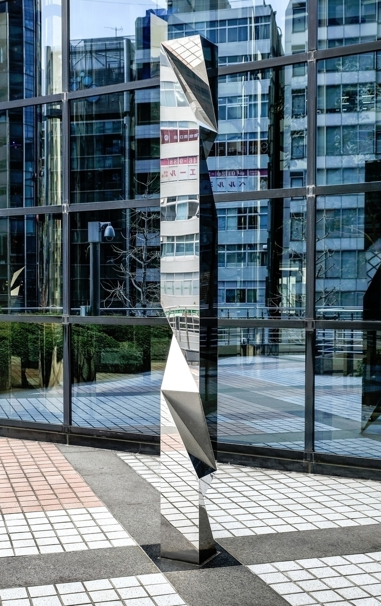 Mirror sculpture Tokyo - fujifilm - tedhamilton | ello