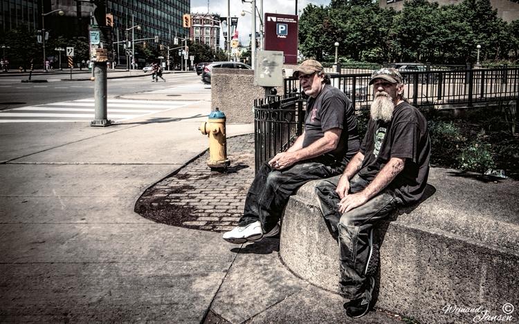 Construction workers break - artmen | ello