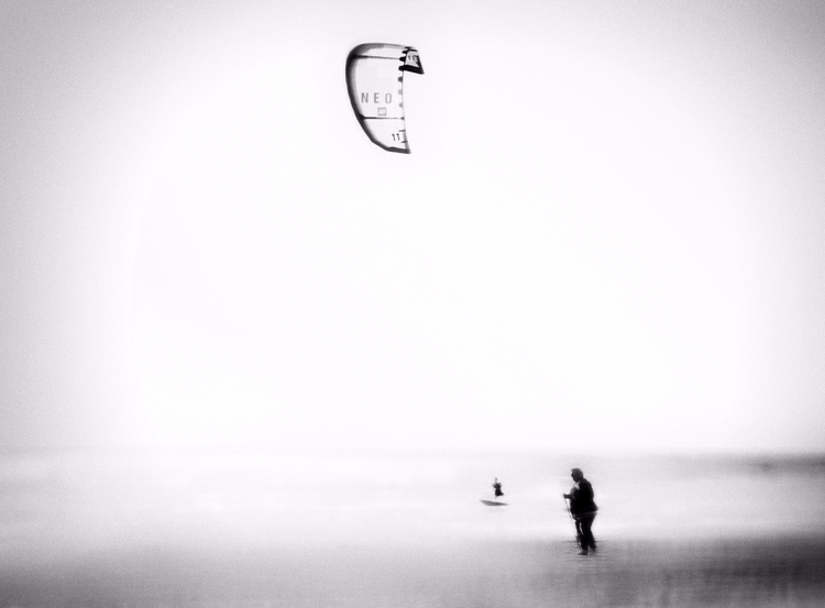 Sea, air, land - photography, monochromatic - elhanans | ello