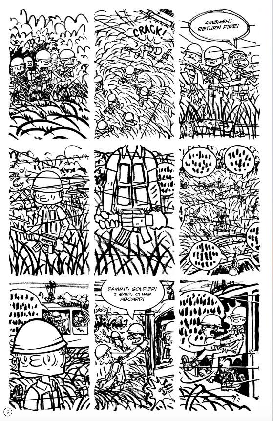 day 11: Woodstalk issue 8, page - bruceworden | ello
