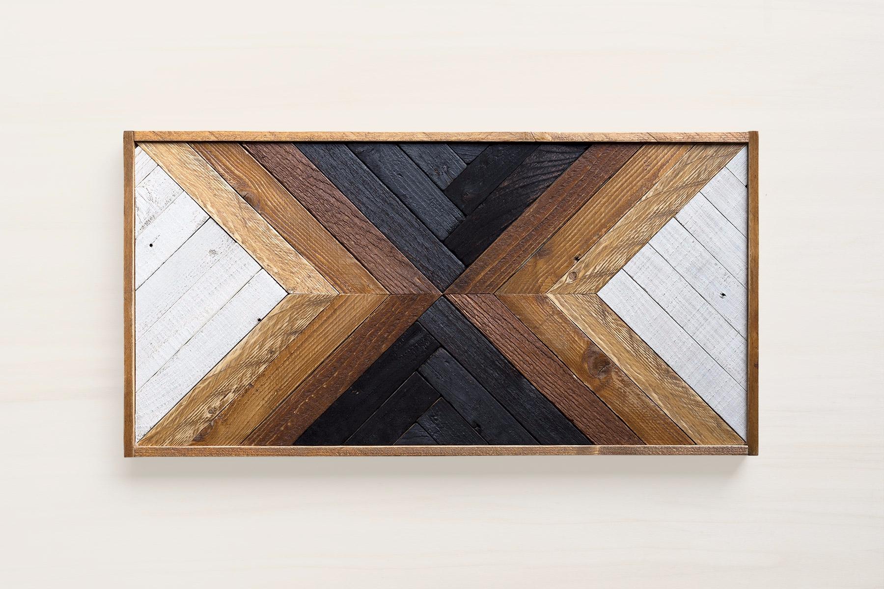 Maka | reclaimed wood wall art  - despalettos | ello