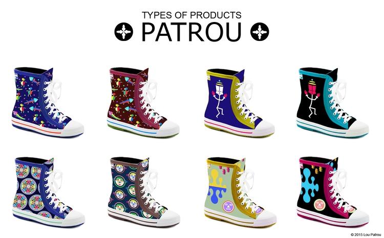 PATROU designs rain boots  - rainboots - patrou   ello