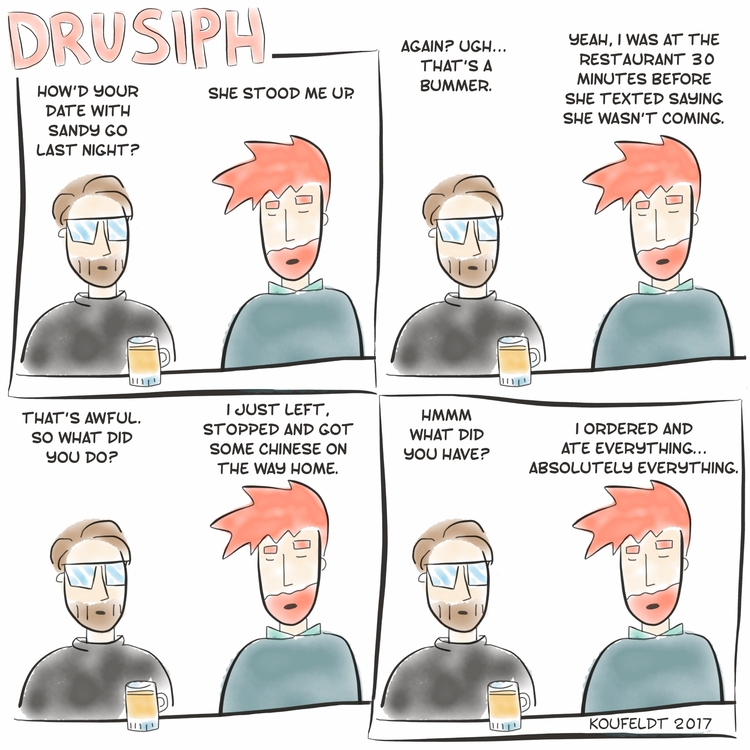 drusiph, thursday, comic, comicstrip - drusiph | ello