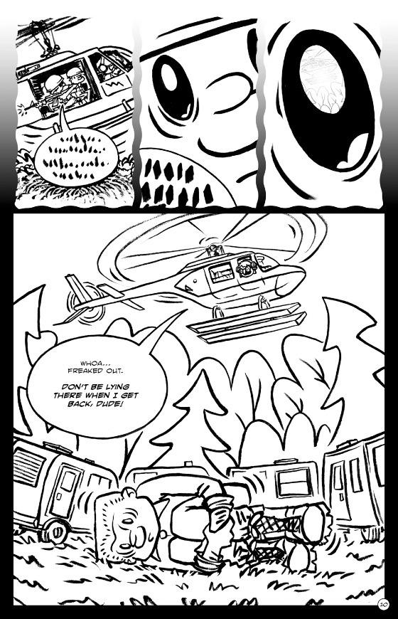 day 12: Woodstalk issue 8, page - bruceworden | ello