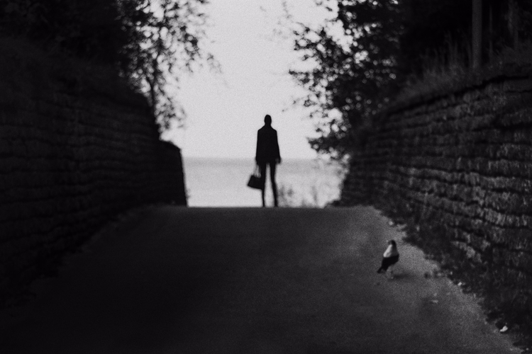 bw, photography, bokeh, sea, road - gr4y1nu | ello
