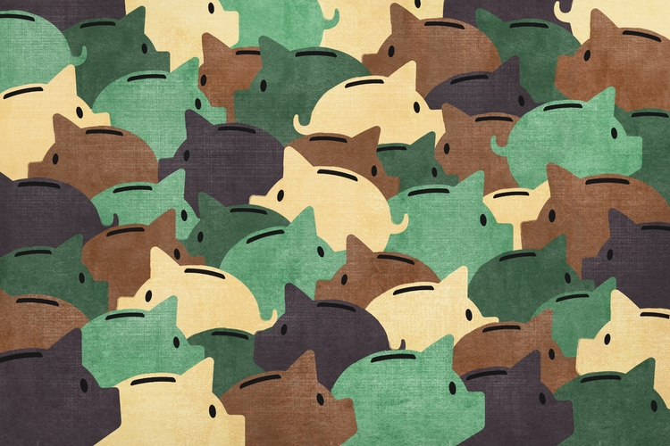 Military personnel saving retir - salzmanart | ello