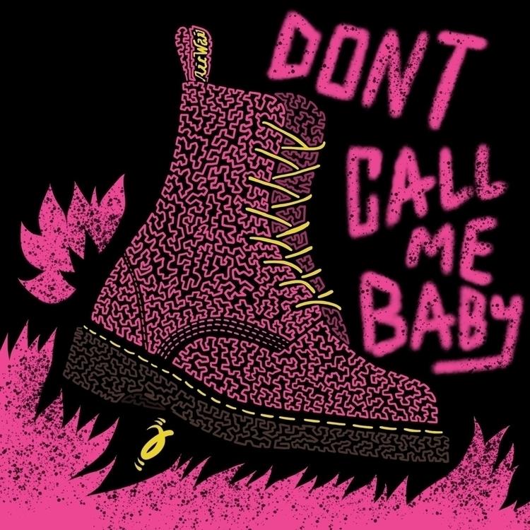 Call Baby. Squiggle Furmie - drmartens - furmie | ello