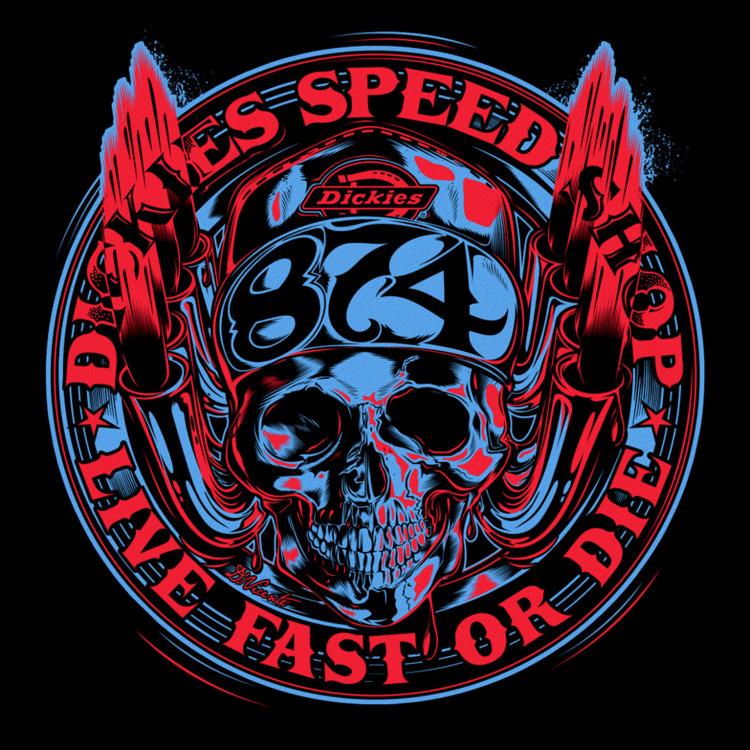 DICKIES Speed Shop Live fast di - dvicente777 | ello