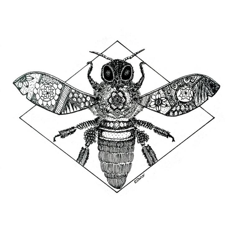 | Inktober - teeming 13.10.2017 - edwln | ello