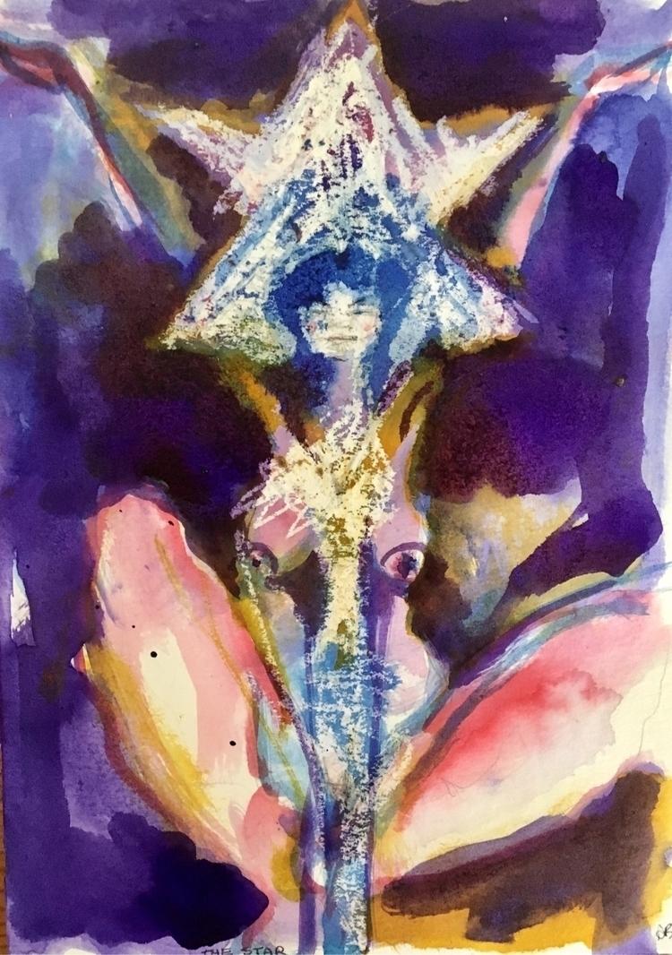 Star - Kundalini Arcana - artwork - arnabaartz | ello