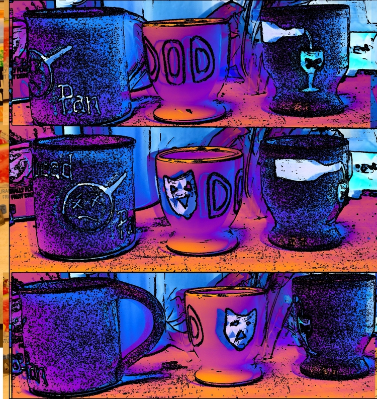 =.=.=.=.= - blue, cups, imagery - coochdawg | ello